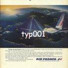 AIR FRANCE - 1980 - LA FRANCE PAR AIR FRANCE PRINT AD