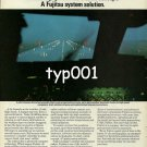 FUJITSU - 1980 - SYSTEM SOLUTION TO WEATHER INFORMATION  PRINT AD