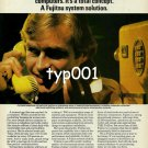 FUJITSU - 1980 - SYSTEM SOLUTION TO TELEPHONE NETWORK PRINT AD