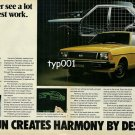 DATSUN NISSAN - 1980 - YOU NEVER SEE A LOT OF OUR GOOD WORK PRINT AD