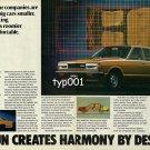 DATSUN NISSAN - 1980 - OTHERS MAKE BIG CARS SMALLER WE MAKE SMALL CARS ROOMIER PRINT AD