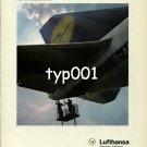 LUFTHANSA - 1980 - THEIR THOROUGHNESS MAKES THE DIFFERENCE PRINT AD