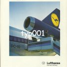 LUFTHANSA - 1980 - THERE'S NO DOUBT WHICH AIRLINE WE'LL CHOOSE FOR OUR NEXT FLIGHT DC-10 PRINT AD