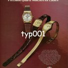 ORIENT - 1980 - A HIGH FASHION LINE OF PRECISION QUARTZ WATCHES FOR LADIES PRINT AD