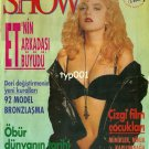 DREW BARRYMORE - 1992 - E.T.'S FRIEND HAS GROWN UP TURKISH MAGAZINE COVER