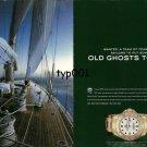 ROLEX - 2005 - TRANSATLANTIC CHALLENGE - PUT OLD GHOSTS TO BED PRINT AD
