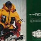 ROLEX - 2006 - ED VIESTURS - STAND IN AWE YES FOLLOW HIS FOOTSTEPS NO PRINT AD