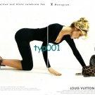 LOUIS VUITTON - 1996 - 100. ANNIVERSARY LV ALAIA CELEBRATE LV MONOGRAM PRINT AD