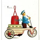 LOUIS VUITTON - 1996 - TIN TOYS SERIES ANTIQUE CAR PRINT AD