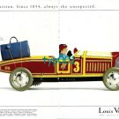 LOUIS VUITTON - 1996 - TIN TOYS SERIES ANTIQUE SPORTS CAR PRINT AD