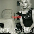 DOLCE & GABBANA - 2010 - MADONNA PRINT AD - 01