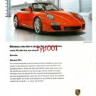 PORCHE - 2010 - CARRERA 911 MILLIONS OF CLEVER & CREATIVE IDEAS TURKISH PRINT AD