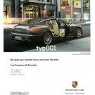 PORCHE - 2013 - PANAMERA 4S EXECUTIVE LONGER SPORTS CAR DREAM TURKISH PRINT AD