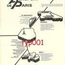 AEROPORT DE PARIS - 1972 - ROISSY, LE BOURGET, ORLY - VARIAN MAGNETRON PRINT ADS