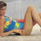 ZEKI TRIKO - 1992 - STEPHANIE SEYMOUR ZEKI SWIMSUITS AT WORLD BEACHES  PRINT AD