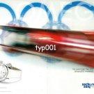 OMEGA - 2014 - SEAMASTER SOCHI WINTER OLYMPICS RUSSIA BOBSLEDDING PRINT AD