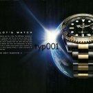 ROLEX -  2010 - THE PILOT'S WATCH PAN AM PRINT AD