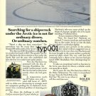 ROLEX - 1991 - SEARCH SHIPWRECK UNDER ARTIC ICE NOT FOR ORDINARY DIVER PRINT AD