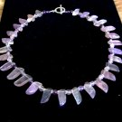 FREE SHIPPING Stunning flourite collar necklace MUST see