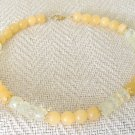 FREE SHIPPING Stunning pineapple quartz and aventurine choker necklace
