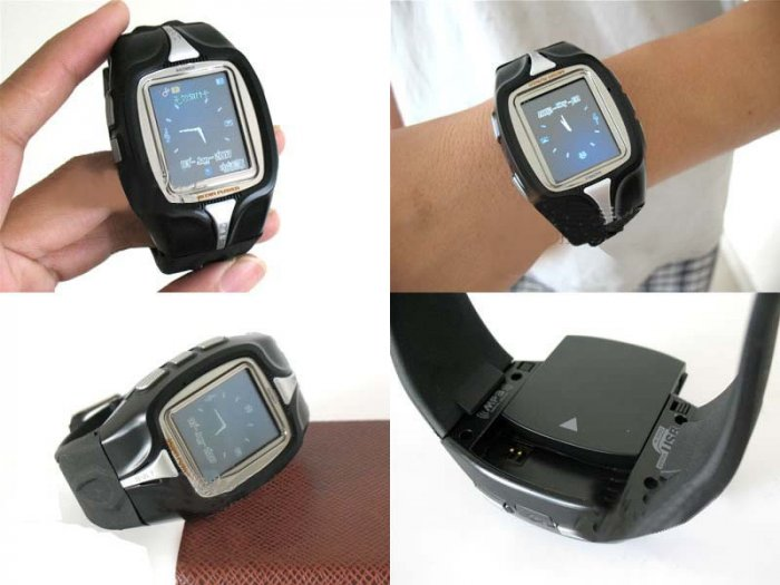 CECT M800 Tri-Band GSM Wrist-Watch Mobile Phone / Touch Screen / Bluetooth