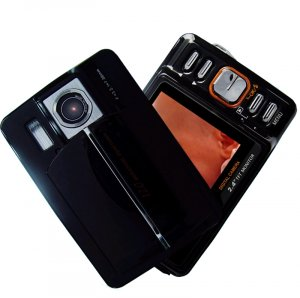 Pocket Sized 5M Pixel Digital Camera - Audio and Video Record