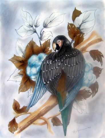 "The Parrot (5""x7""/8""x10"")"