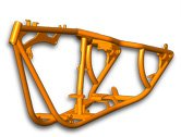 300 Series Rigid Frame - Custom Chopper / Motorcycle Frames