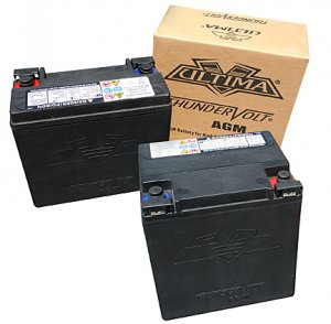 Custom Chopper / Motorcycle Battery 12V
