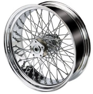 Chrome 60 Spoke Wheel / Rim - Motorcycle / Custom Chopper