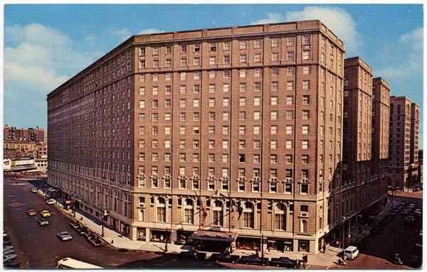 The Statler Hilton, Boston, MA c1966
