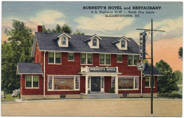 Burnett's Hotel and Restaurant, Elizabethtown, KY