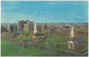 The Three Churches on the Green, New Haven, CT