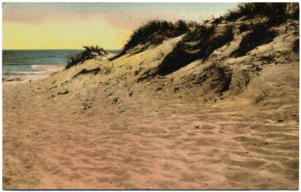 Sand Dune and Sea, Ogunquit, ME c1910s