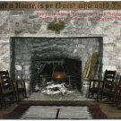 Fireplace, Alpine Tavern, Mt. Lowe Division, Pacific Electric Railway, Los Angeles