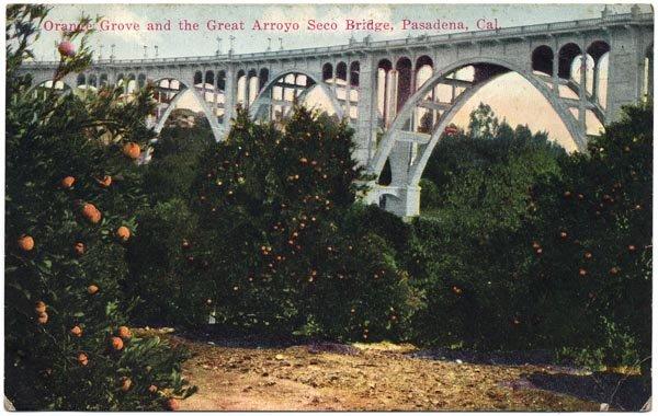 Orange Grove & Great Arroyo Seco Bridge, Pasadena, CA