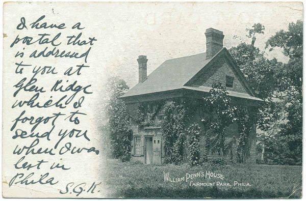 William Penn's House, Fairmount Park, Philadelphia, PA c1905