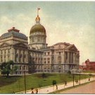 State Capitol, Indianapolis, IN c1910s Postcard