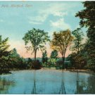 Lake Keney Park, Hartford, CT c1910s Postcard