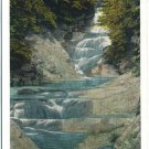 Lace Water Falls, Natural Bridge, VA Postcard