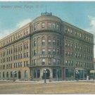 Waldorf Hotel, Fargo, ND c1913 Postcard