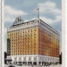 Hotel Jayhawk, Topeka, Kansas Linen Postcard