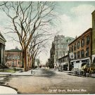 City Hall Square, New Bedford, MA c1910s Postcard