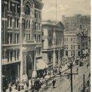 16th Street Scene, Denver, Colorado c1900s Postcard