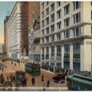 State Street From Madison, Chicago, IL c1917 Postcard