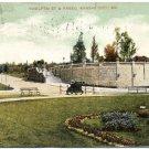 Twelfth St. & Paseo, Kansas City, MO c1909 Postcard
