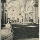 Interior View, Union Station, Dayton, OH c1908 Postcard