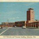 Airport Terminal Bldg, Columbus, OH c1950s Postcard