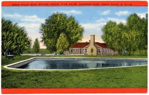 Izaak Walton League Club House, Sioux Falls Postcard