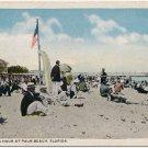 Swimming Hour at Palm Beach, FL Postcard